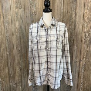 BKE Slim fit button up blouse